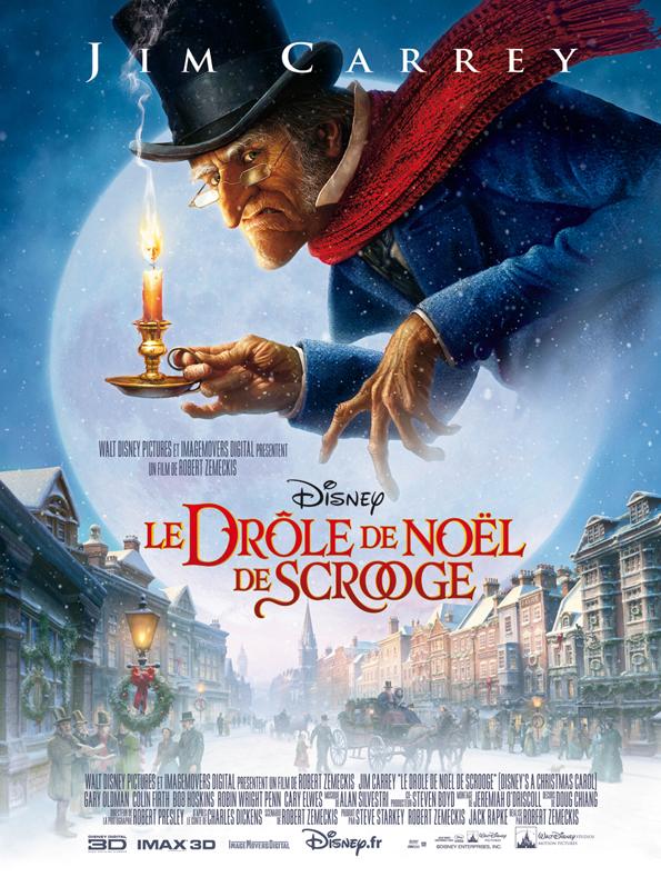 [ImageMovers Digital] Le Drôle de Noël de Scrooge (2009) - Page 2 Accposterfr