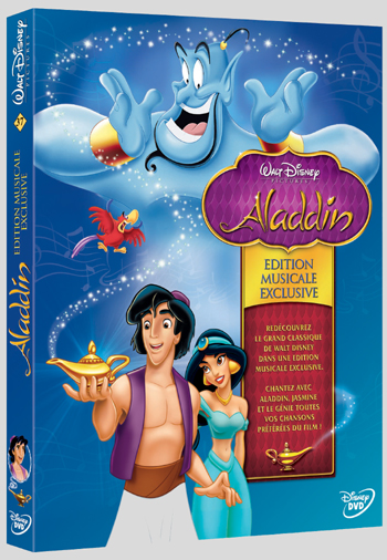 Aladdin - Edition musicale exclusive Aladdinmusical