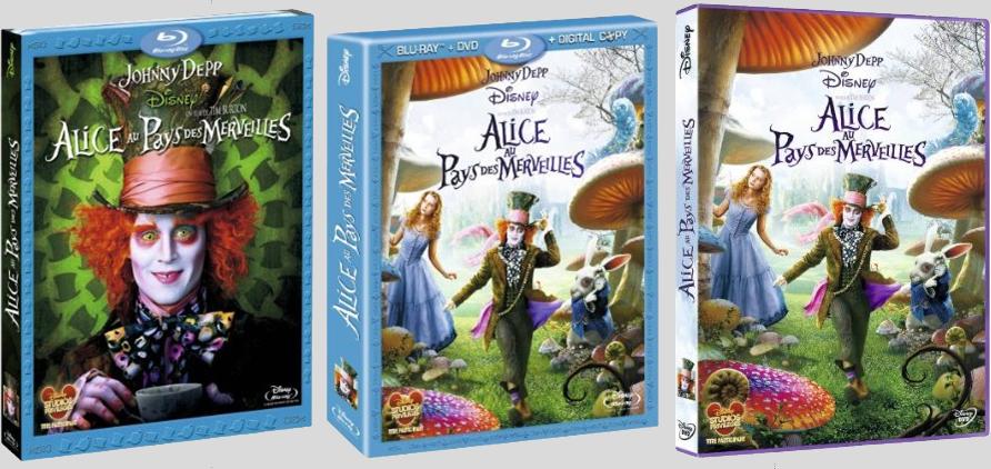 [Blu-Ray et DVD] Alice au Pays des Merveilles de Tim Burton (24 juillet 2010) - Page 2 Aliceburtondvdbdfr