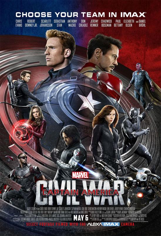 Captain America : Civil War [Marvel - 2016] - Page 12 Captainamerica3affiche16
