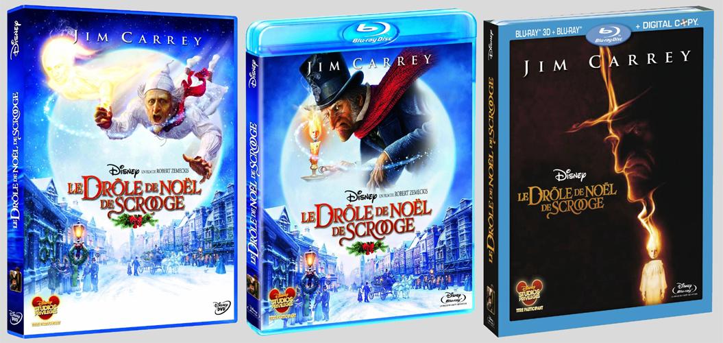 [BD + DVD] Le Drôle de Noël de Scrooge (1er décembre 2010) - Page 5 Scroogedvdbdfr