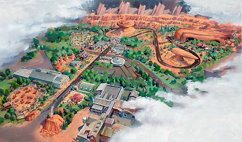[Disney California Adventure] Cars Land (15 juin 2012) Cars-land