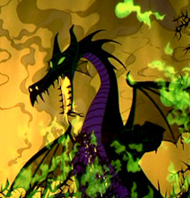 Baccalauréat en images (Disney). - Page 7 Maleficent-dragon