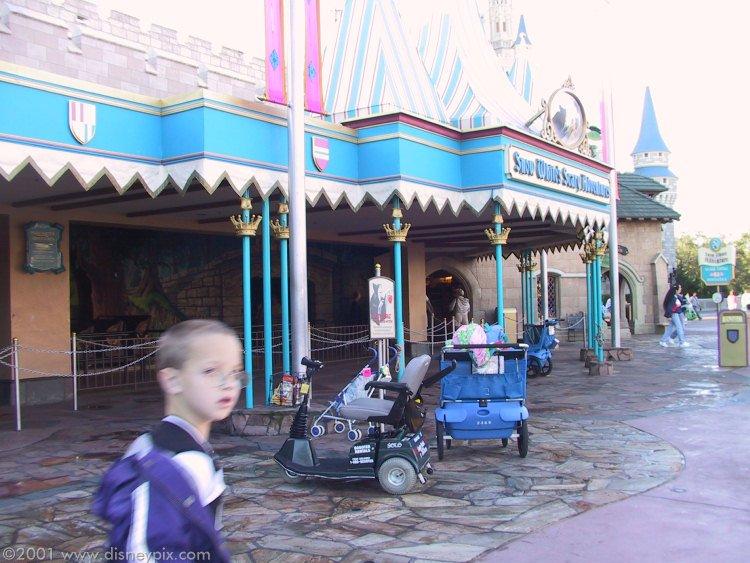 visite du Disney world magic Kingdom FL-1016-07