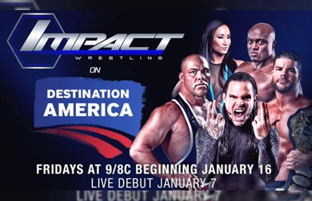[Divers] Impact Wrestling change encore de jour Impactfridays