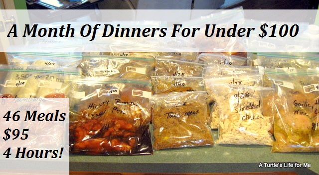 A Month Of Dinners For Less Than $100 A-Month-Of-Dinners-For-Less-Than-100-2