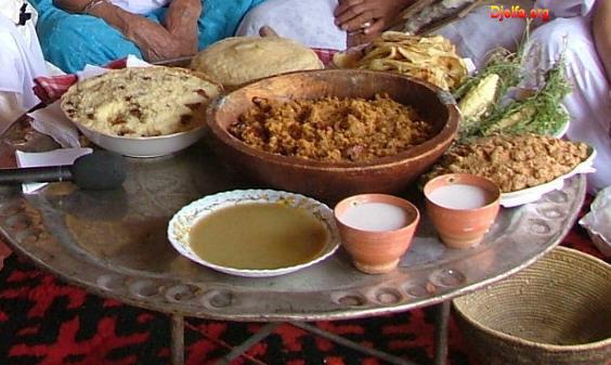 Tradition de la région de Djalfa Cuisine