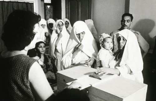 La Guerre d'Algérie en images Referendum-1-7-1962