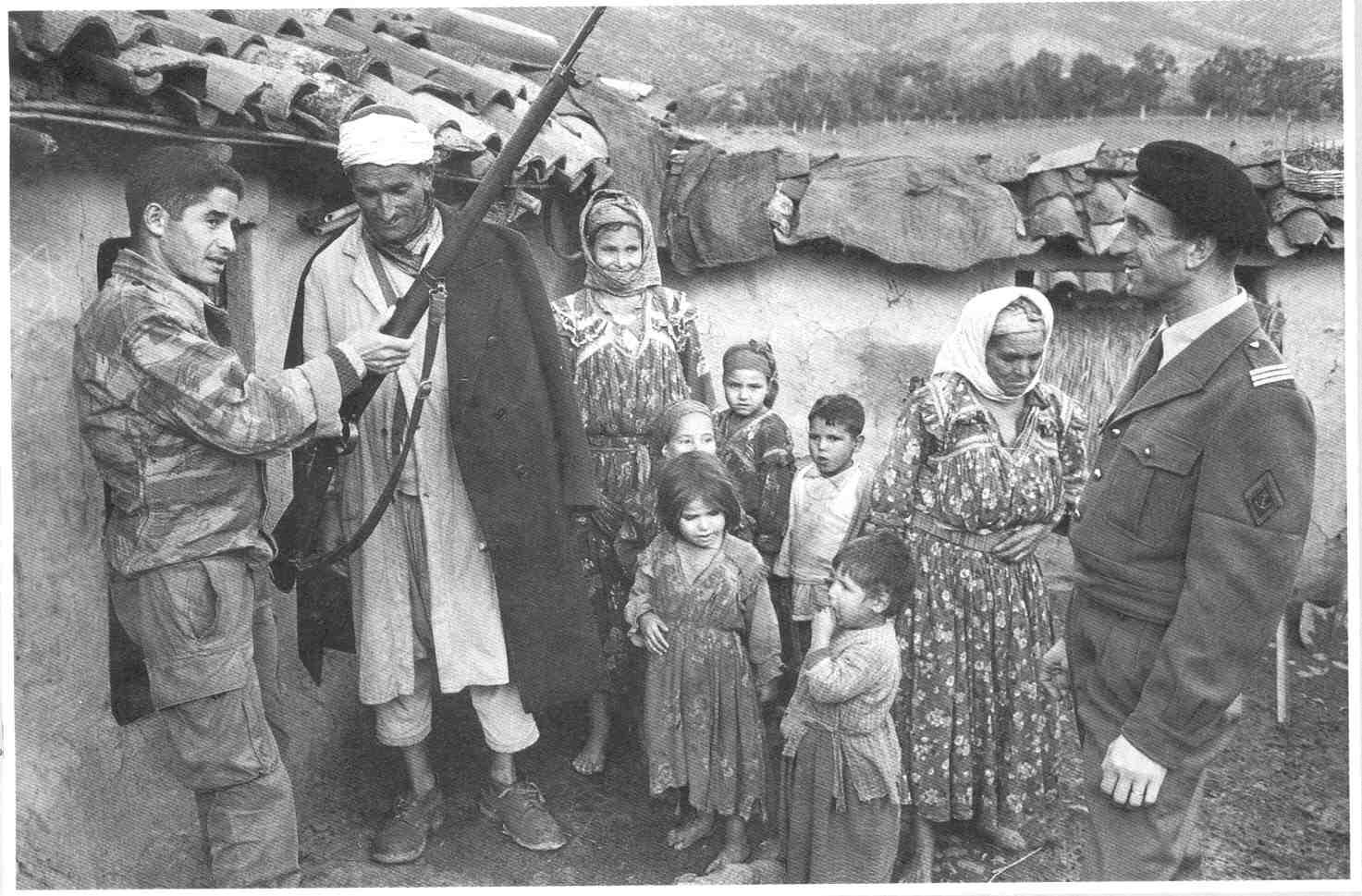 La Guerre d'Algérie en images Enrolement