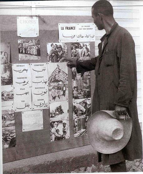 La Guerre d'Algérie en images Propagande1