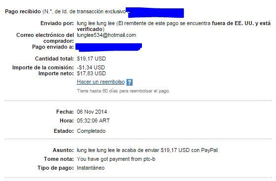 5ª Pago PTCbery $17.19 1Fnb4