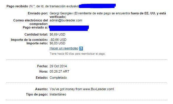 4ª Pago Buxleader $6.69 SMIL5