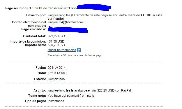 4ª Pago PTCbery $22.29 TWqrT
