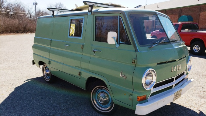 66 Dodge A100 Van  (Anderson, Indiana) $12,500 1966_anderson-in_featured
