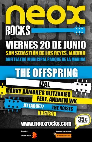 The Offspring Neox-rocks-cartel