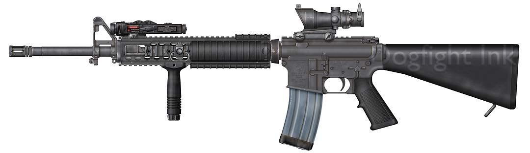 Ai Đam Mê Súng Đạn Vào Đây M16A4