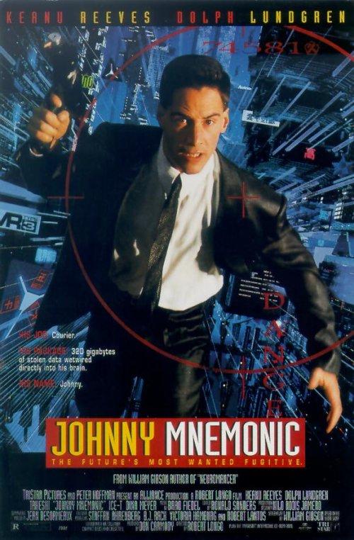 Johnny Mnemonic  (Johnny Mnemonic) 1995 Jm%20US%20poster%2006_p1