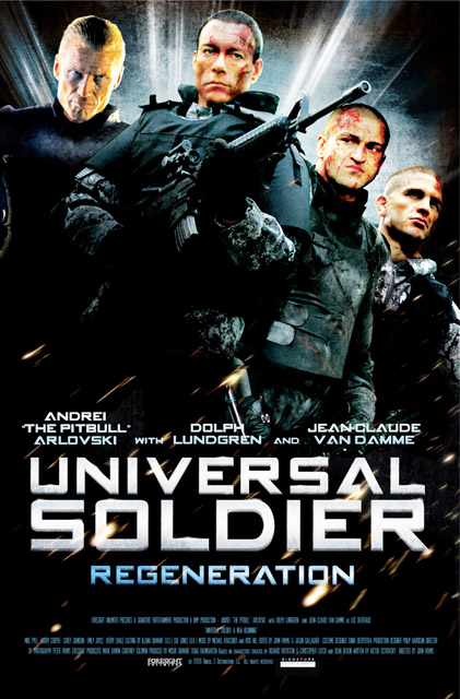 Universal Soldier: Regeneration 2009 US3-POSTERART_4regen