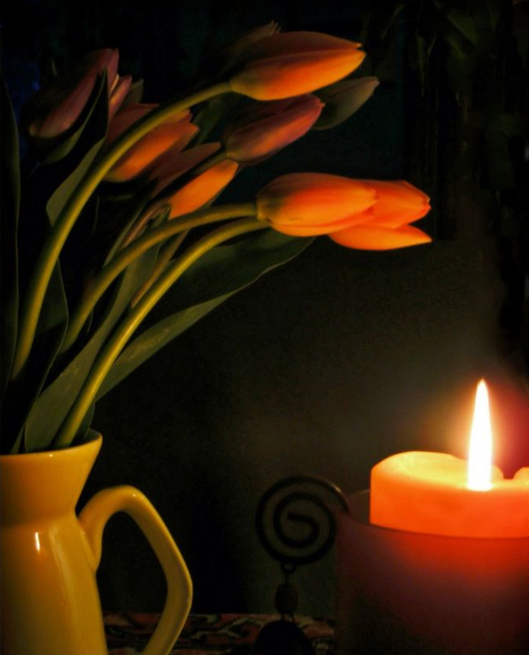 Plamen  svece 41