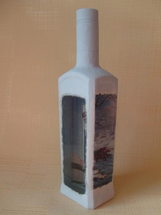 Как сделать декупаж новогодних бутылок Dekupazh-novogodnikh-butylok-22