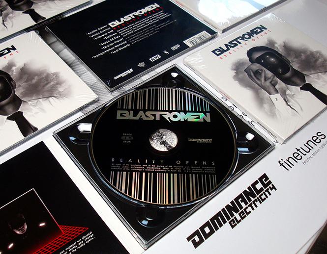 "BLASTROMEN ""Reality Opens"" new album (Dominance Electricity) Vinyl CD Poster DE020_CDphoto665"