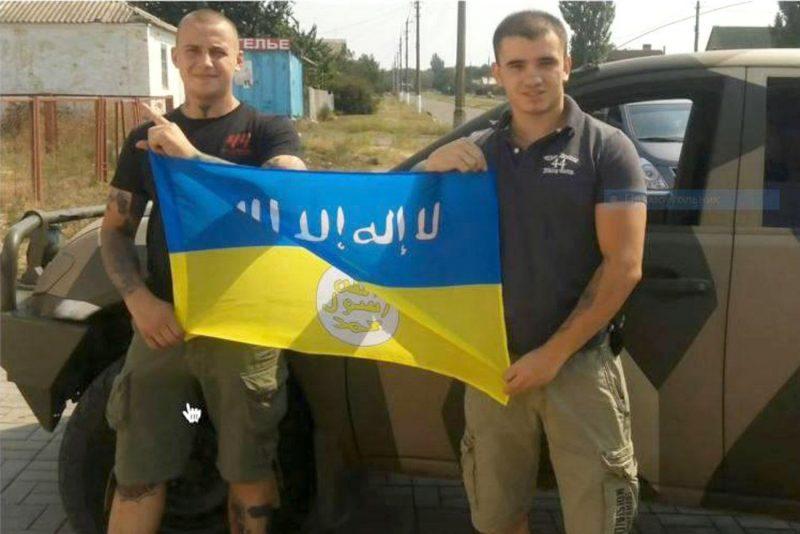 Les médias occidentaux découvrent que l'Ukraine est un refuge pour djihadistes.. DS7BYmQXcAE6k7W-e1574783560565