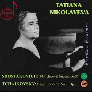 L'oeuvre pour Piano de Chostakovitch Nikolayeva