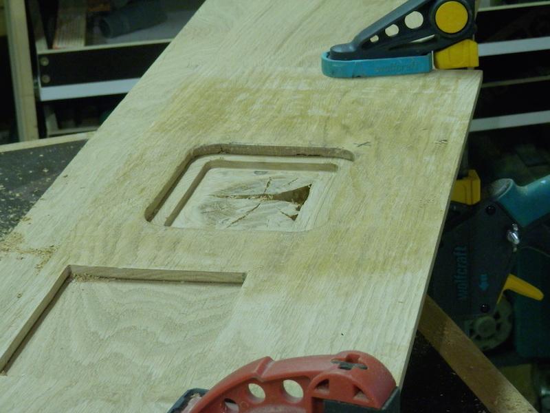 Escalier en chêne 2 virages + mezzanine P9220122