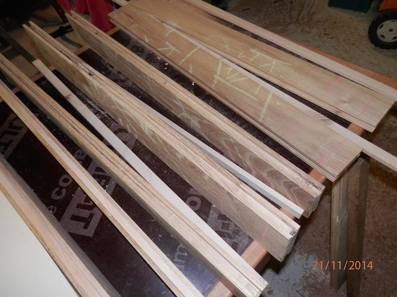 Table basse (pas à pas) Blancplateau1