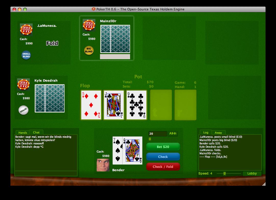 PokerTH Portable 0.6.1r2 Pokerth