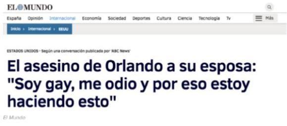 """El afán por demostrar que el asesino de Orlando """"era gay""""... El-Mundo-noticia-falsa-Omar-Mateen"""