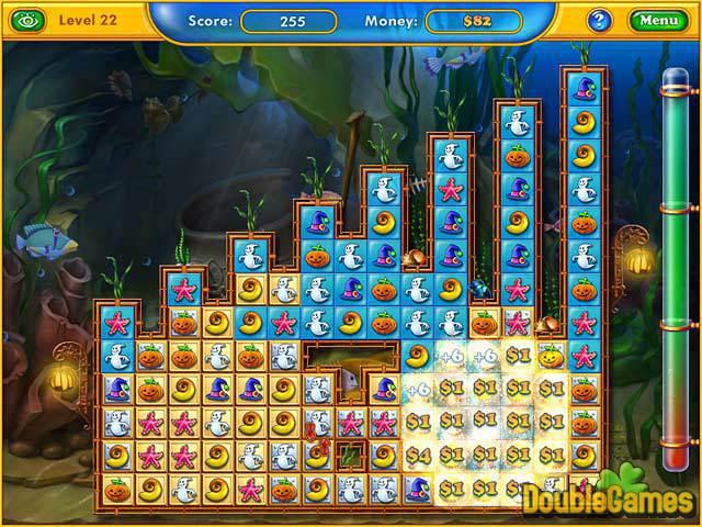 حصريا مع اللعبة المسلية الرائعة Fishdom Spooky Splash بحجم 50 ميجا فقط على اكثر من سيرفر Fishdom-spooky-splash_1_big