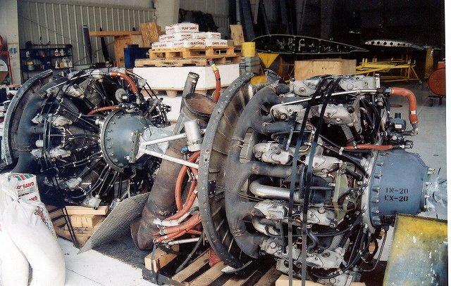 DOUGLAS DC3 Engine1