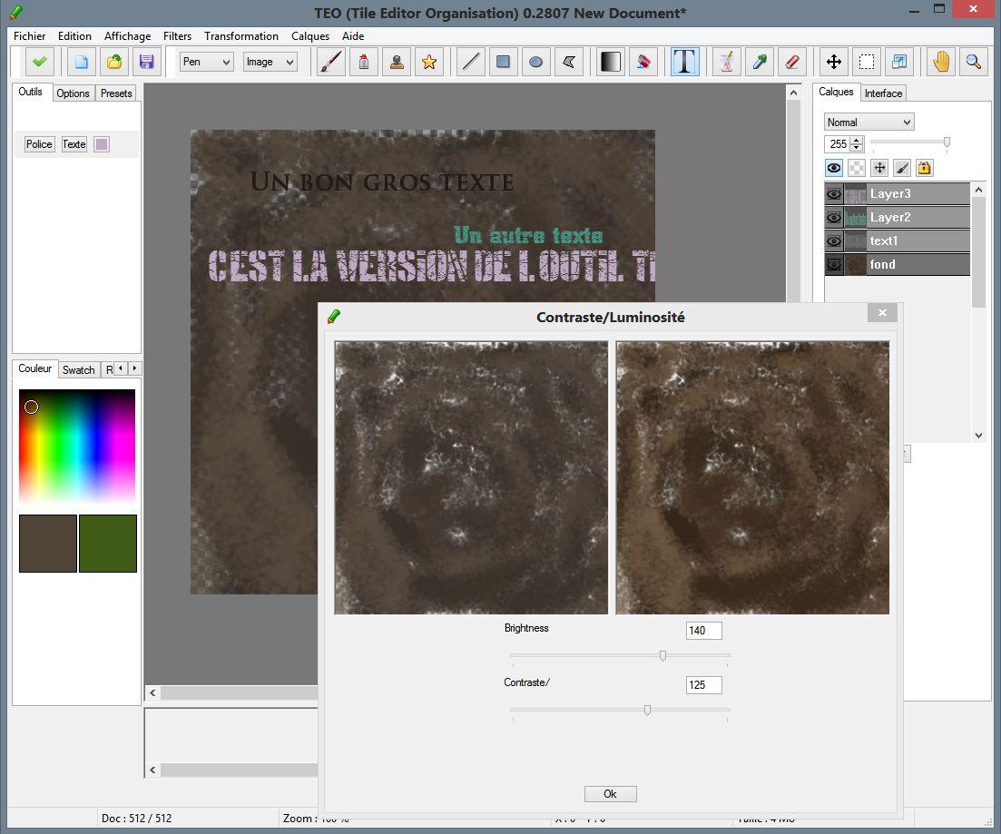 Teo Tile Editor Logiciel De Dessin Pixel Art