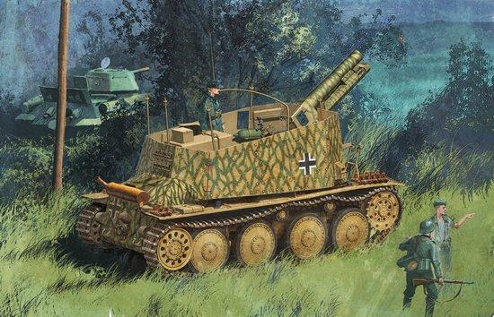Dragon Sdkfz 138/1 Geschutzwagen 38 H :-) ready ! 30-10-2009 L_DRA6470