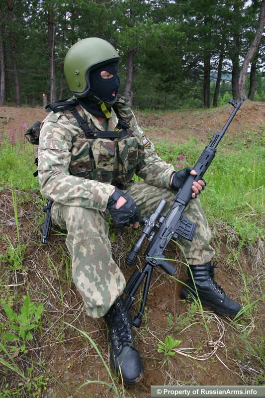 عائلة القناصة الروسية دراغنوف Svd Strelbi120227