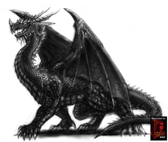 Brackmor the Silent Blackdragogffn