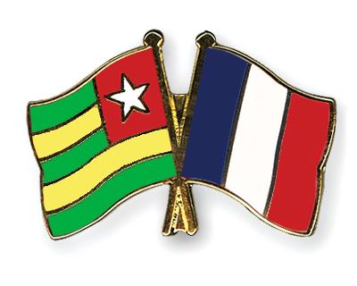 Match Togo - France Pins-Togo-France