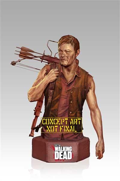 [Gentle Giant] The Walking Dead: Daryl Dixon Mini Bust Twd-darylbust