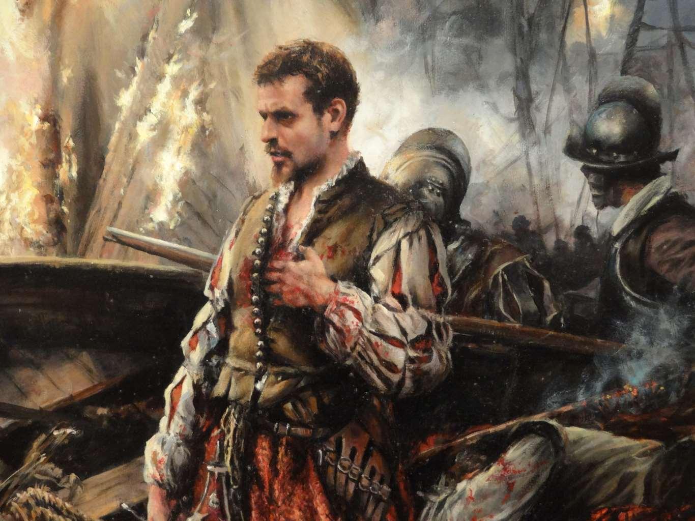 [Historia] Se cumplen 445 años de la batalla de Lepanto, la humillación de Don Juan de Austria al Imperio otomano Cervantes_soldado-28