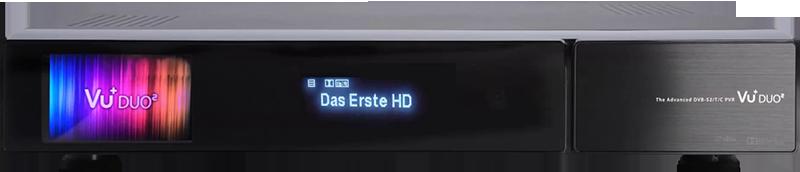 جهاز الإستقبال Vu+ Duo² Ext-front
