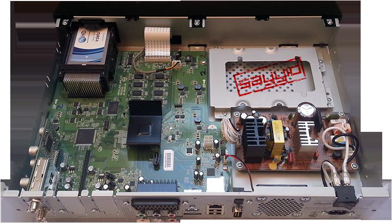 جهاز الإستقبال Vu+ Duo² Int-rear
