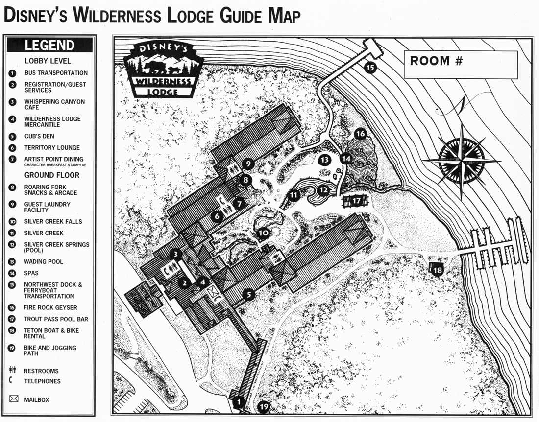 Plans (parcs+Hôtels de WDW) Wildlodge