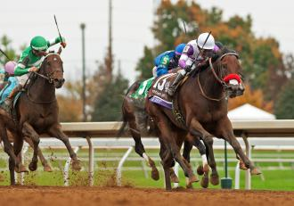 Route du Kentucky Derby/Kentucky Oaks 2016 BC15.Nyquist01.10-31-15.ESH_