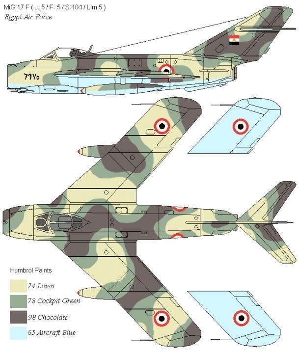موسوعة اجيال الطائرات المقاتلة واشهر طائرات كل جيل - صفحة 4 Mig17late