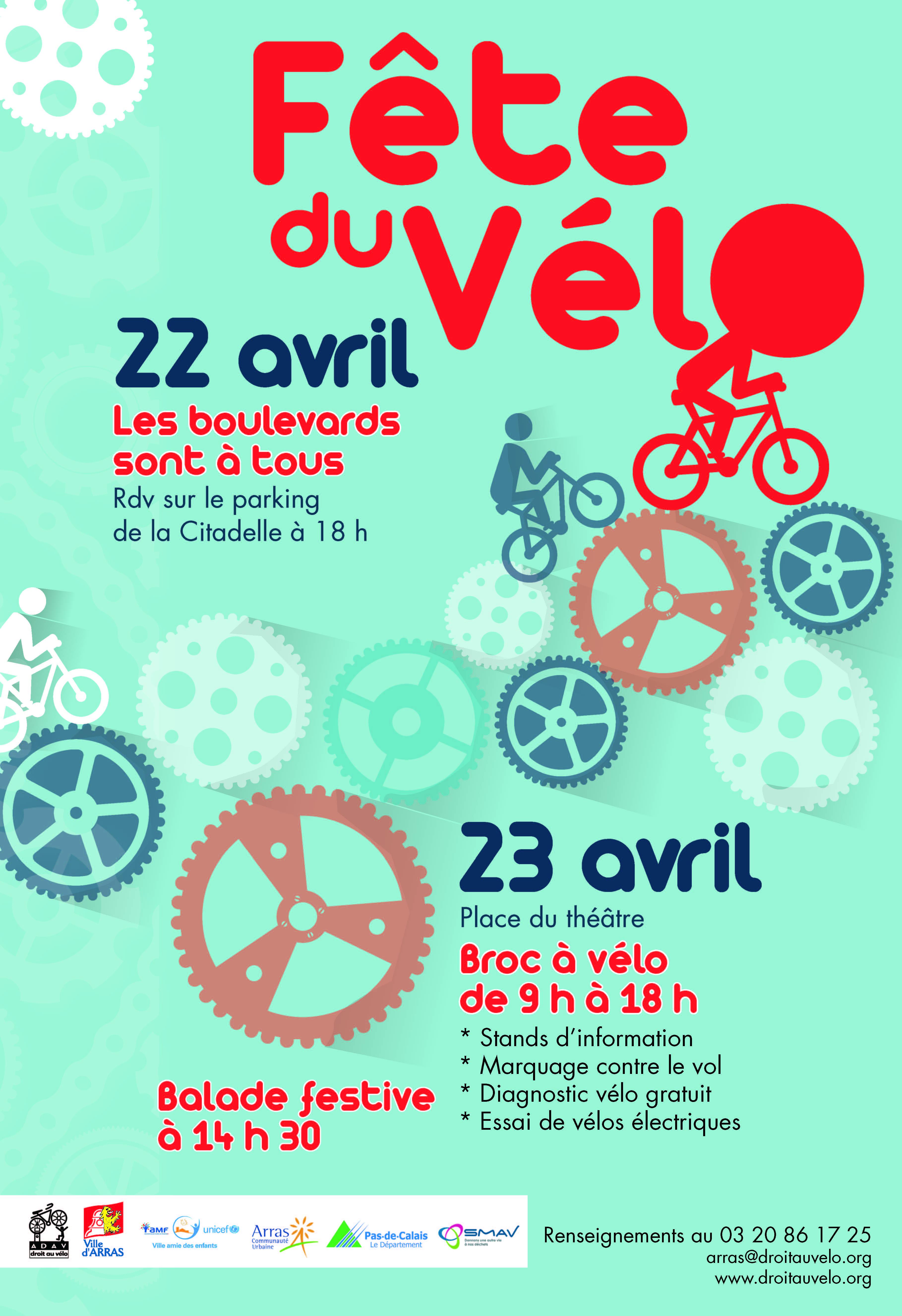 Fête du Vélo à Arras (62000), 22-23/04/16 Arton652