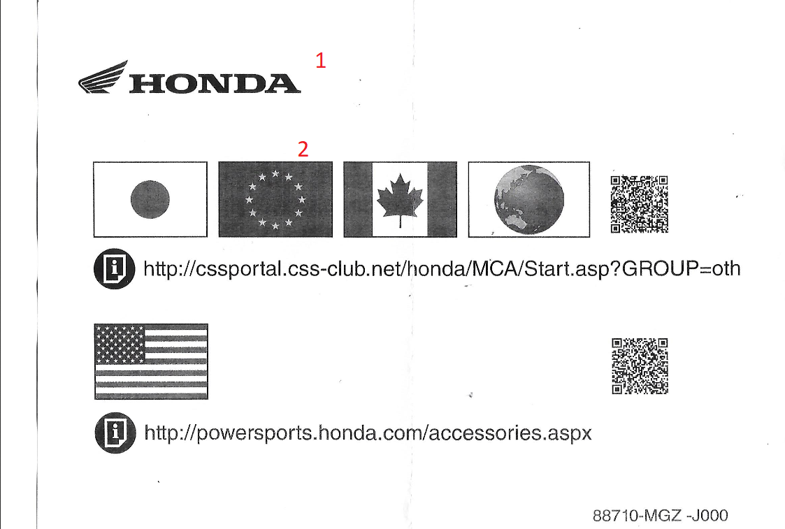 Fiche Instruction HomeLink Honda 16