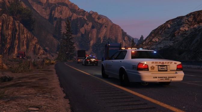 GTA V - Primeiro Departamento de Polícia de Los Santos Mod - novo trailer GTA-V-LSPDFR-672x372