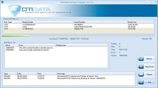 Windows Surface Scanner 2.0 - Εντοπίζει τους κατεστραμμένους τομείς του σκληρού σας δίσκου Index_clip_image008