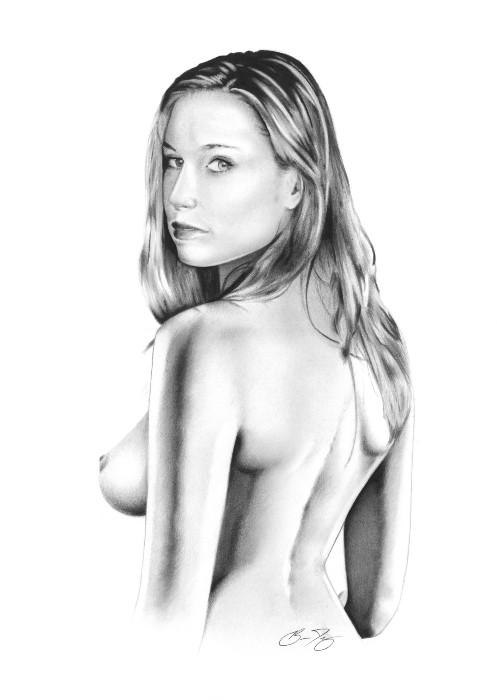 Vizatime te ndryshme te punuara me laps... Nude_drawing